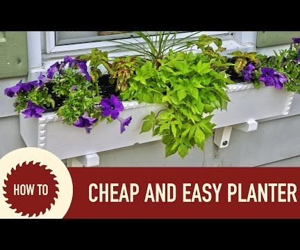Cheap and Easy Planters
