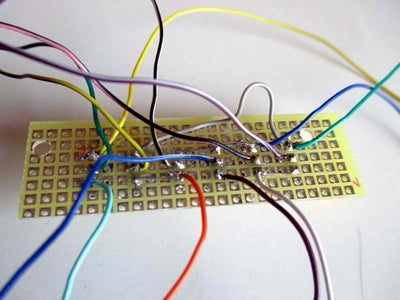 Ensambling the Transistors Board