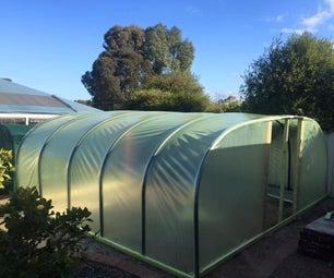 Poly Pipe Greenhouse and Shadehouse With Sprinkler System