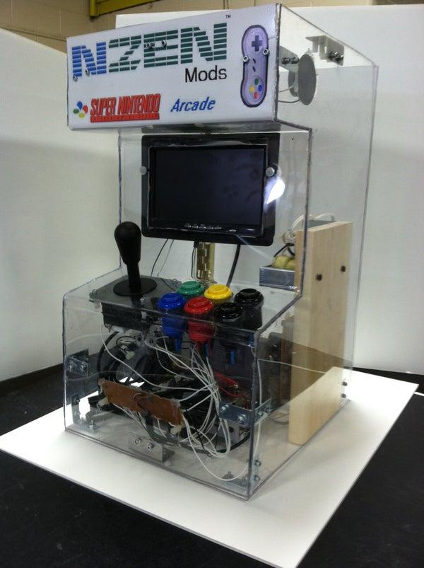 Super Nintendo (SNES) Arcade Machine