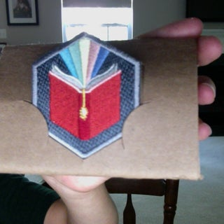 How to Repurpose a Diy.org Patch Mailer Into a Patch Stand