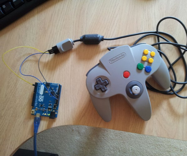 Turn an N64 Controller Into a USB Gamepad Using an Arduino Leonardo