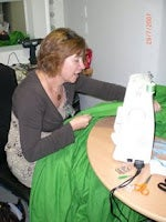 Sewing Together the Green Screen