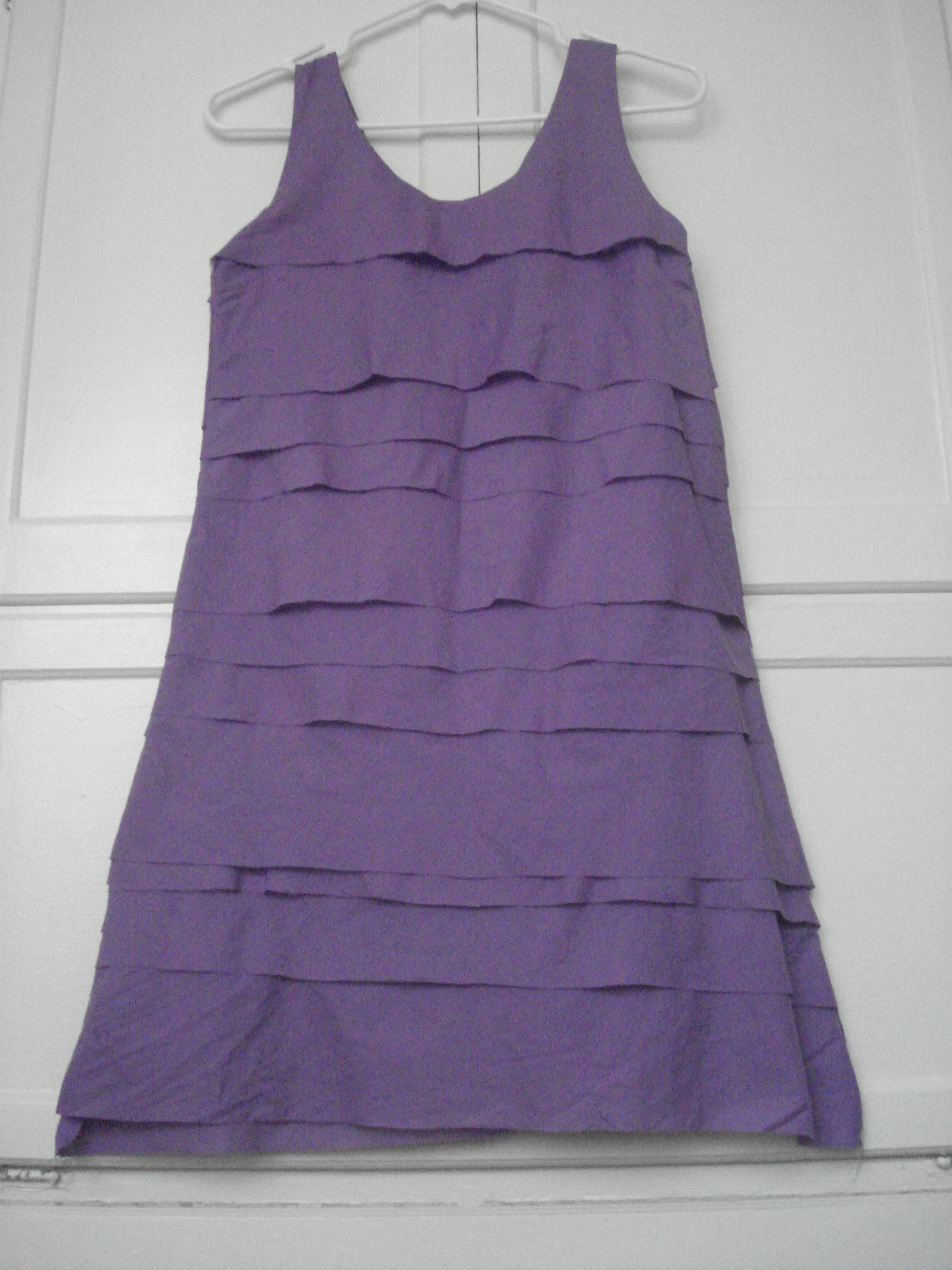 Shutter-Pleat Shift Dress