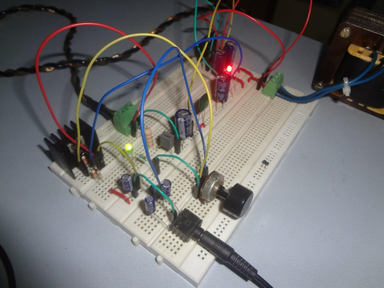 Audio Amplifier Using TDA2050 32 Watt