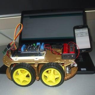 Build a Bluetooth Robot W/ Arduino & MIT App Inventor