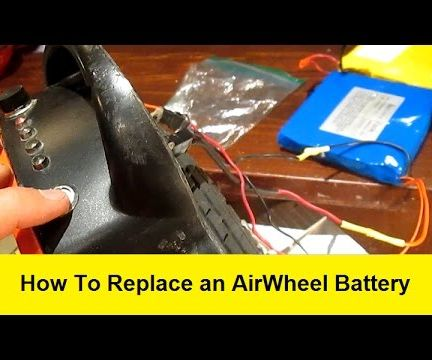 How to Replace an AirWheel Battery