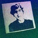 Corrugated Self-Portrait