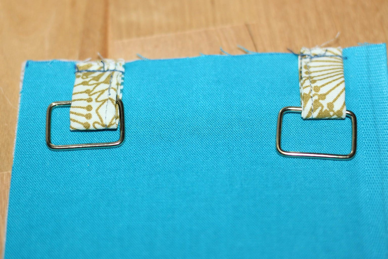 Attaching the Loops and Flap
