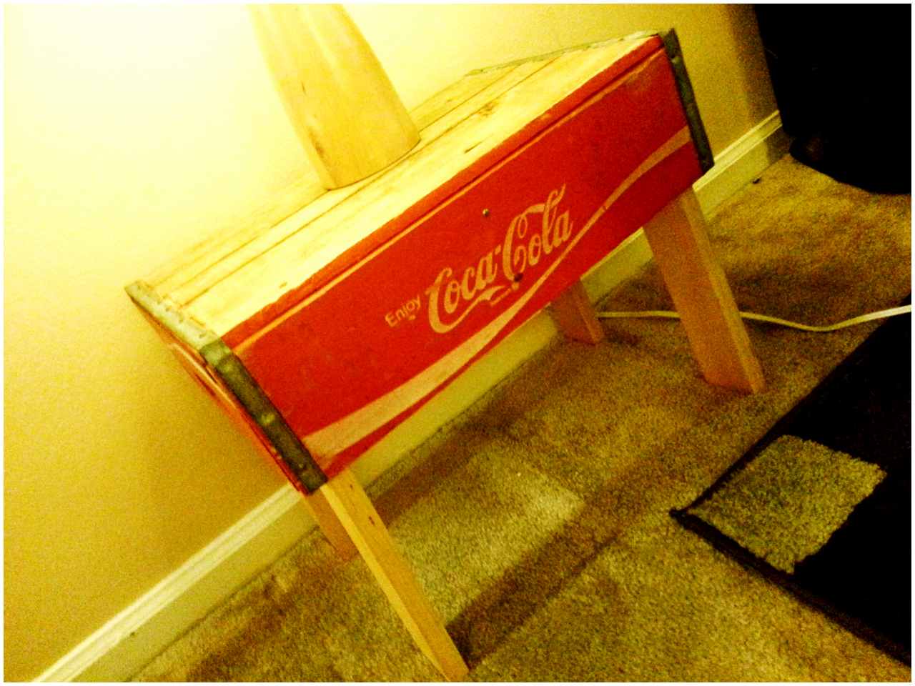 Budget Soda Crate End Tables