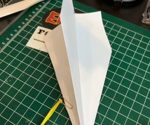 String Wing the Sling Shootable Record Breaking Paper Airplane