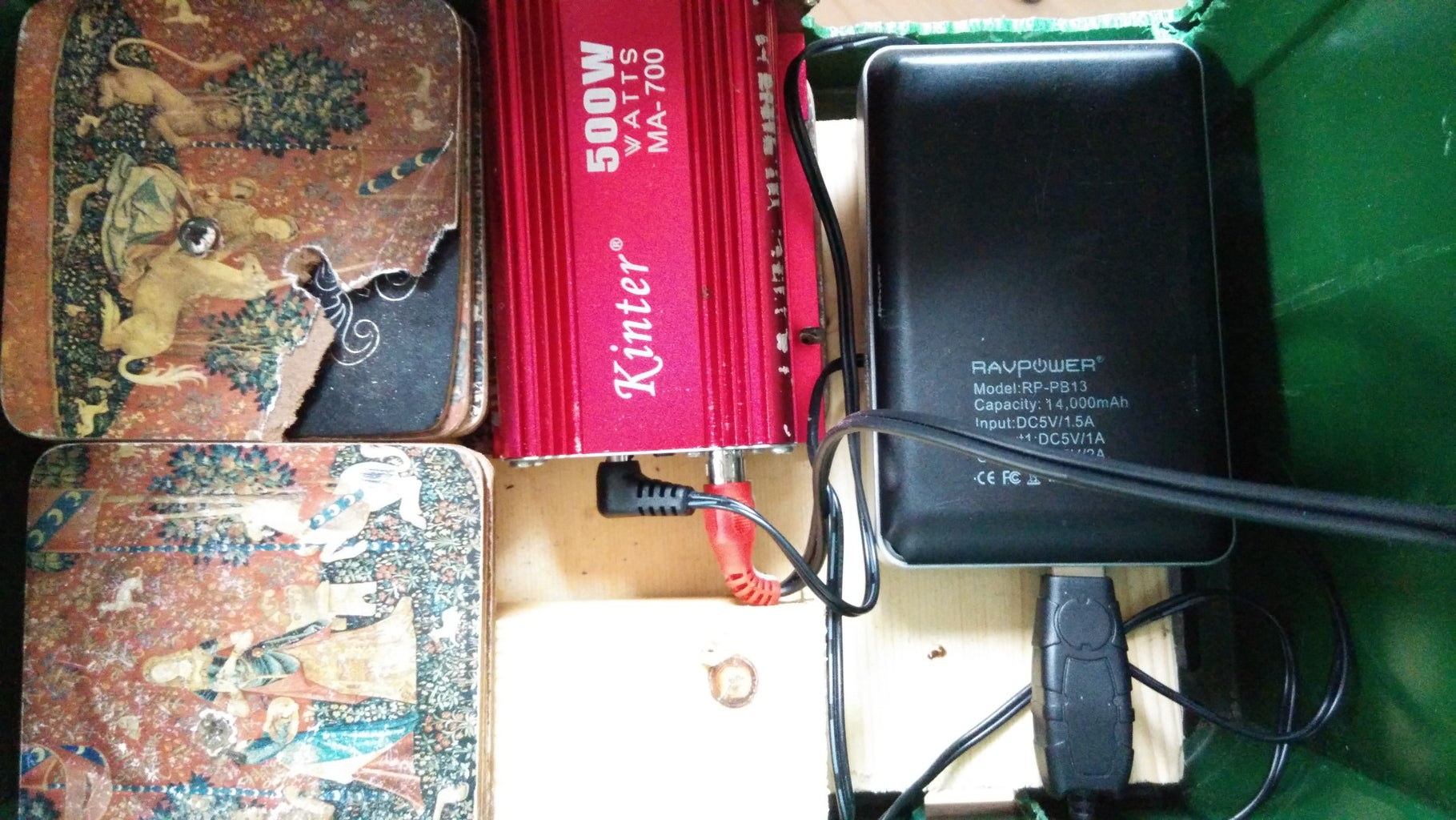 The Amp and the Battery