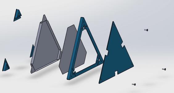 Troisième Manière De Fabriquer La Structure Pour Plus De Légèreté :Impression 3D / Third Way to Make the Structure for More Lightness: 3D Printing