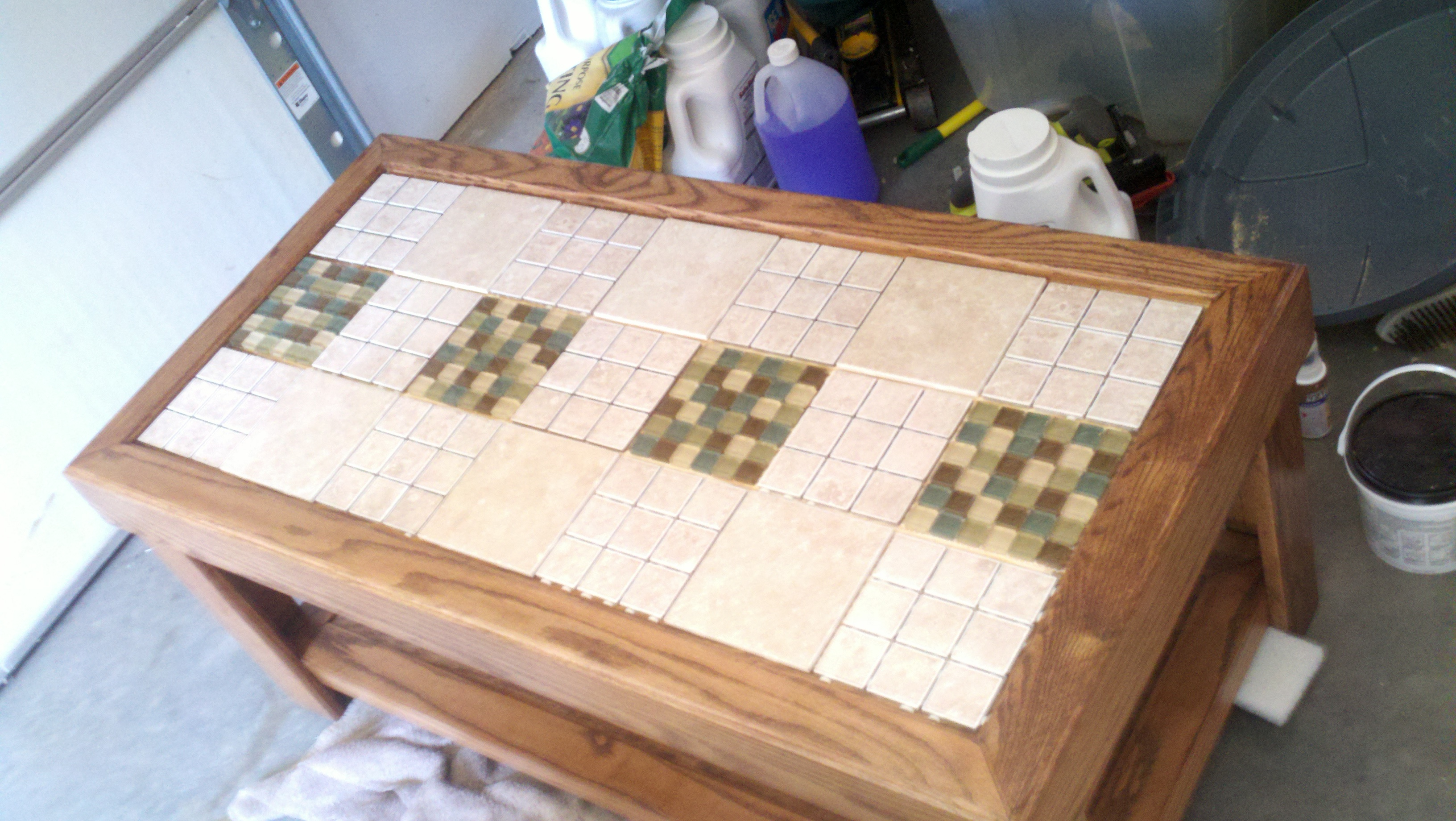 Tile A Table Top 5 Steps Instructables