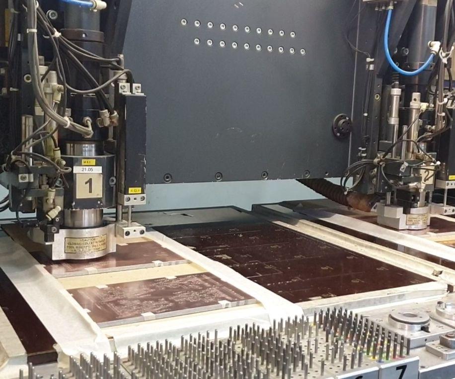 Drill Counting Sensor for PCB CNC Machine