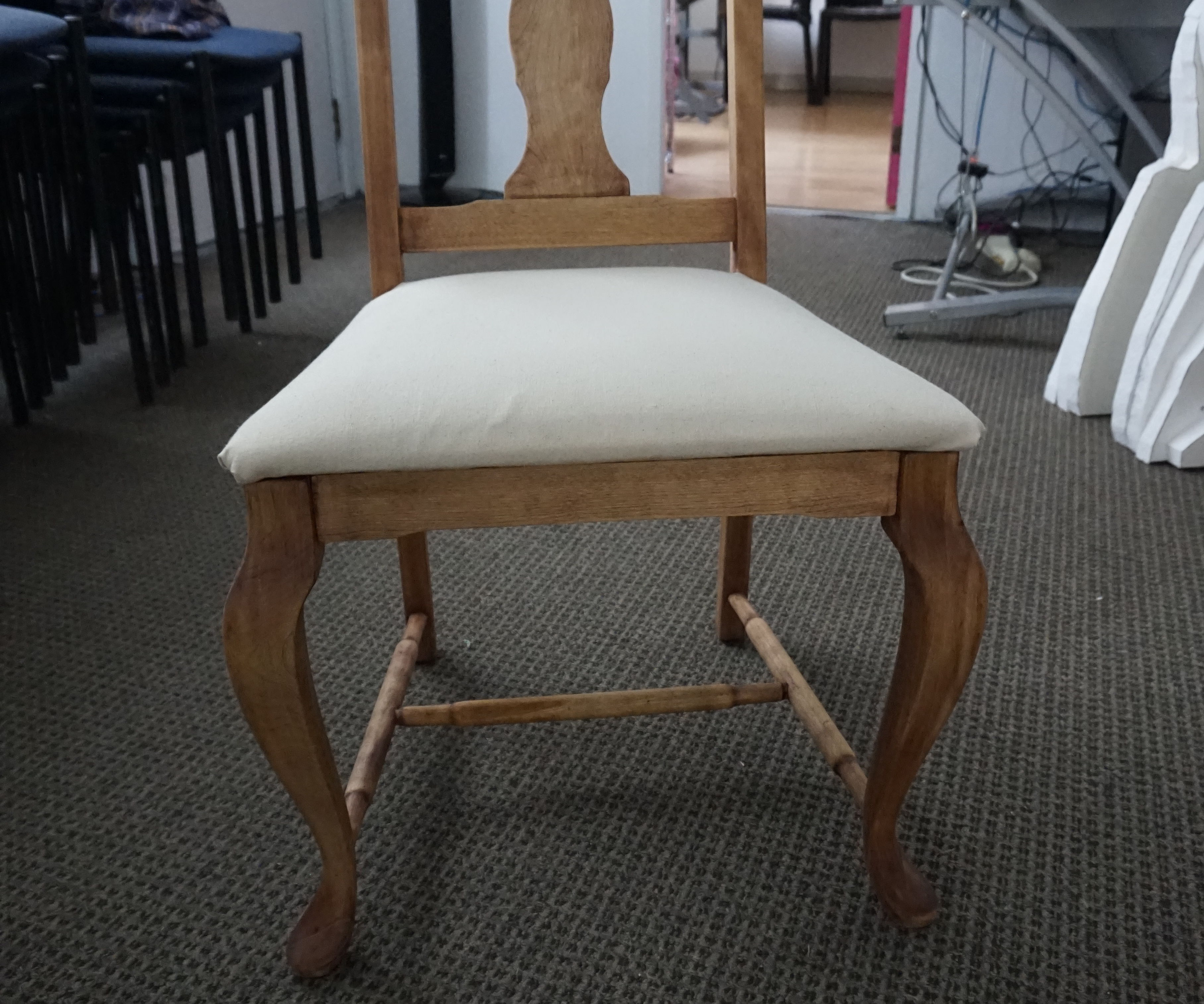 Chair refinishing and seat recovering