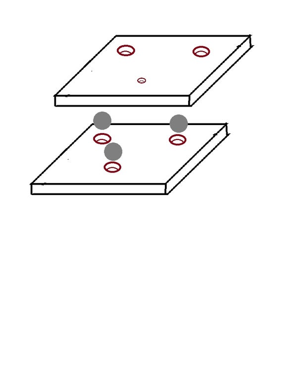 Jig for Drilling Holes in Ball