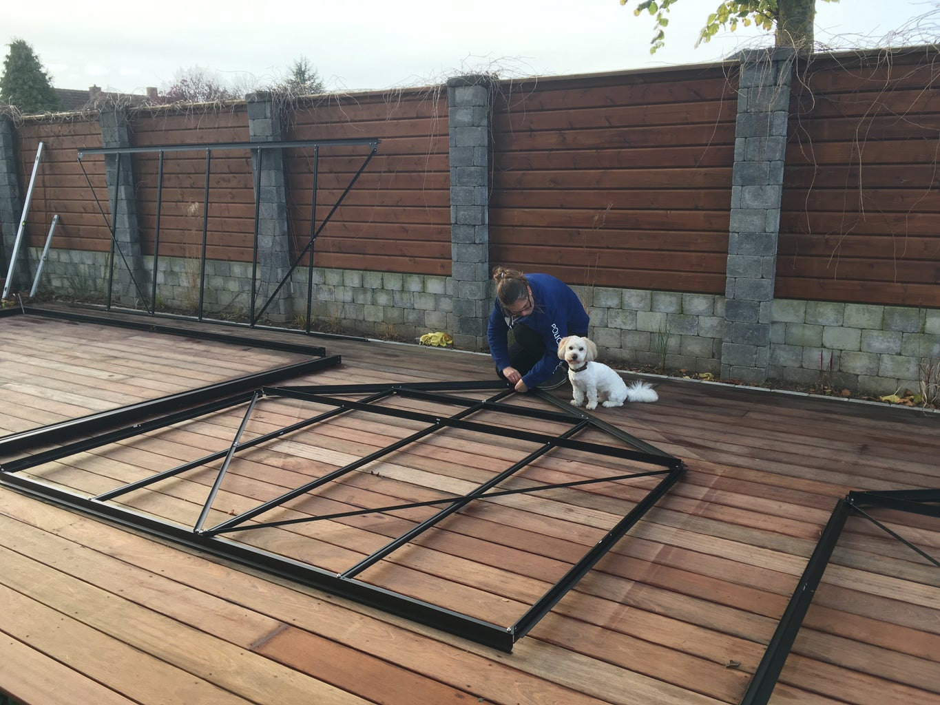 Assembling the Greenhouse