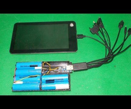 DIY Power Bank Homemade Power Energy for Your Smartphone