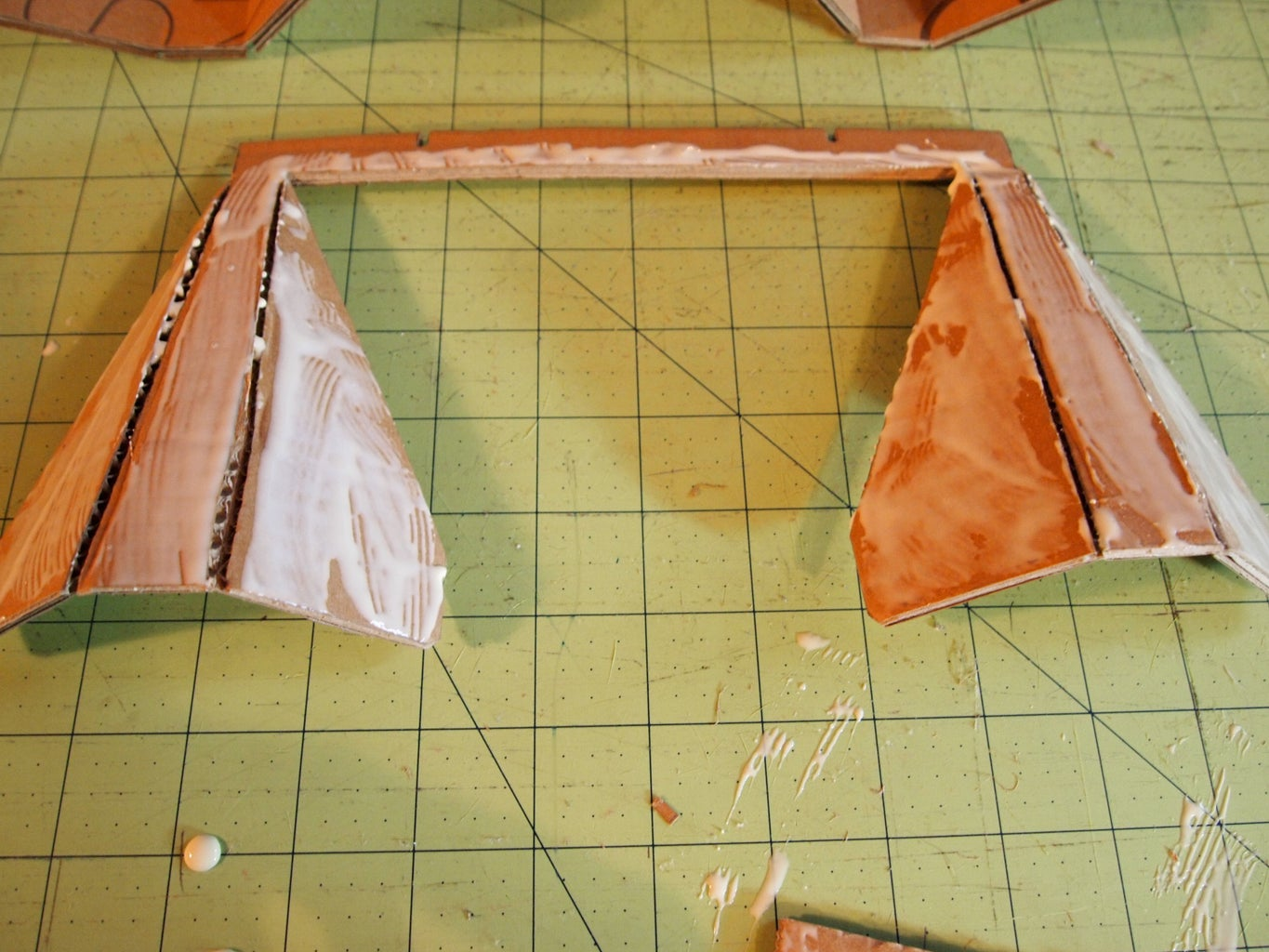 Glue Foil to Back of Pieces
