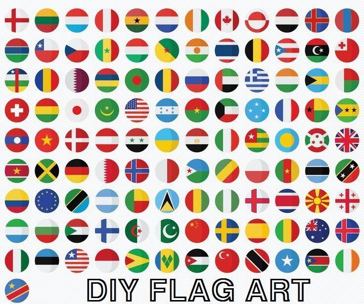 DIY Flag Art Denmark
