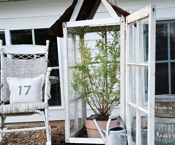 DIY Window Greenhouse