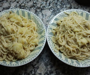 Pasta and Green Peas