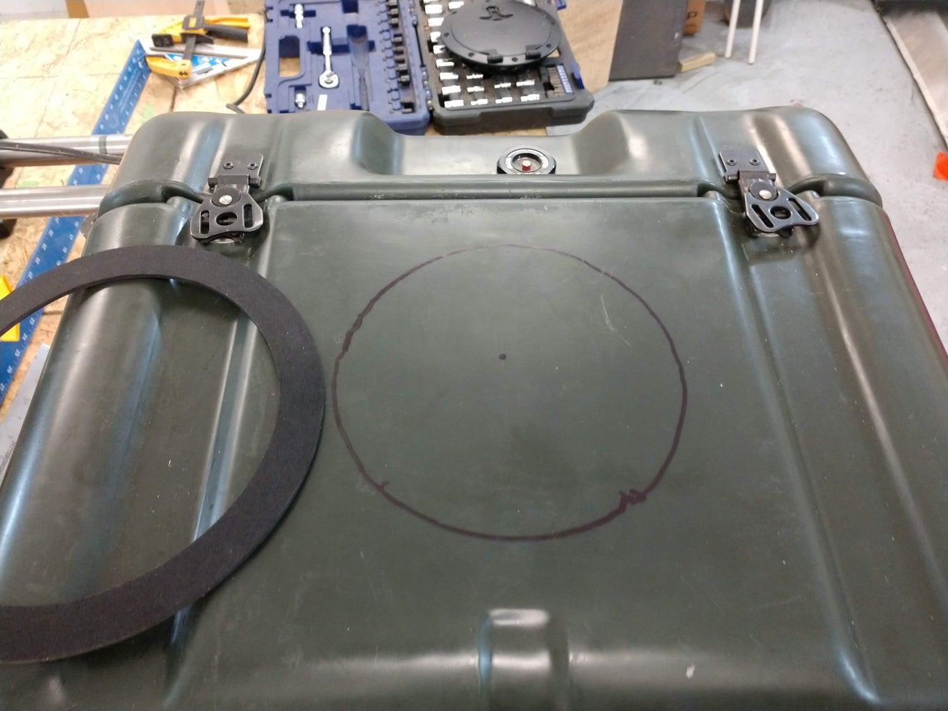Install the Deck Hatch