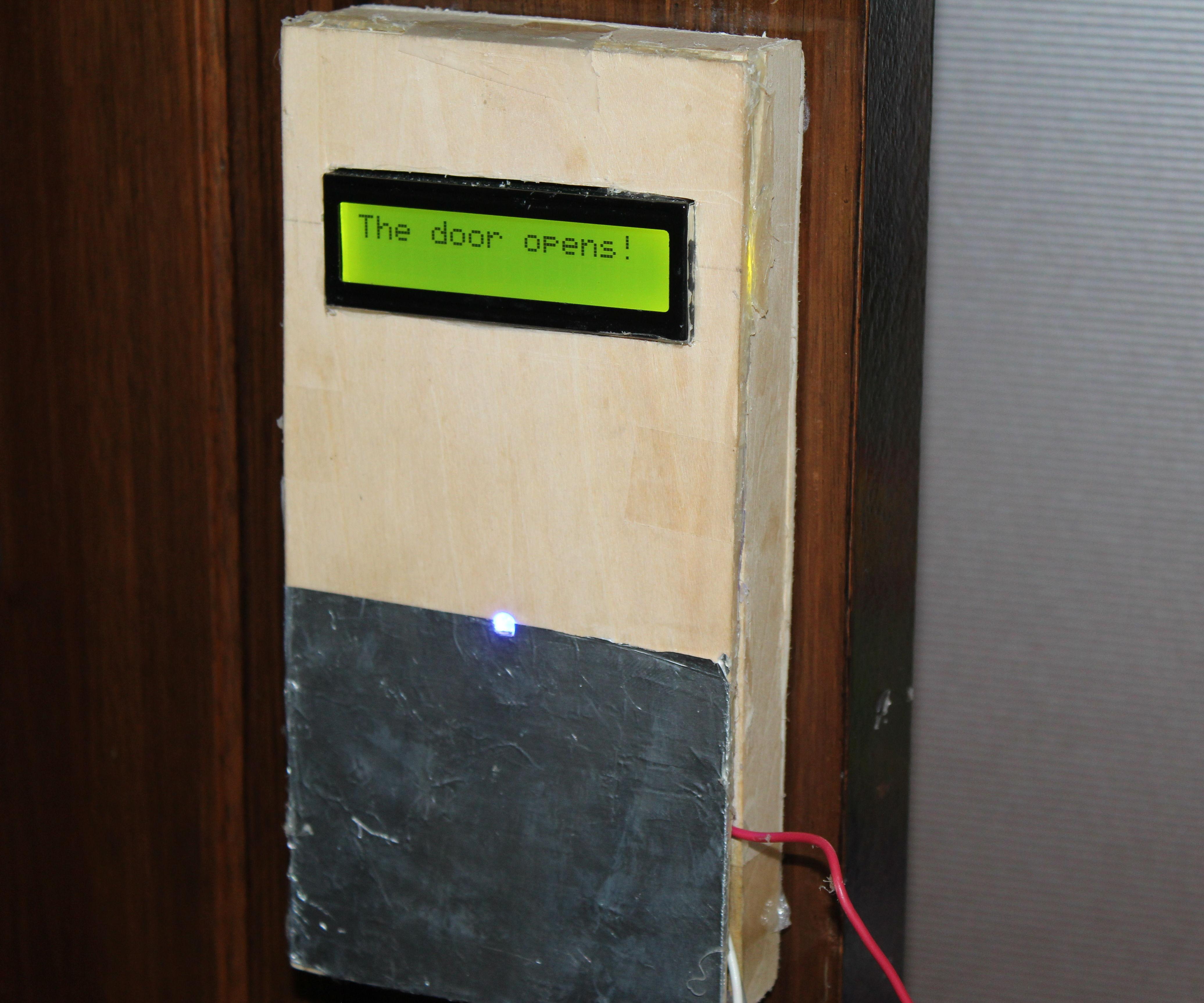 Arduino home automation, Automatic door opene