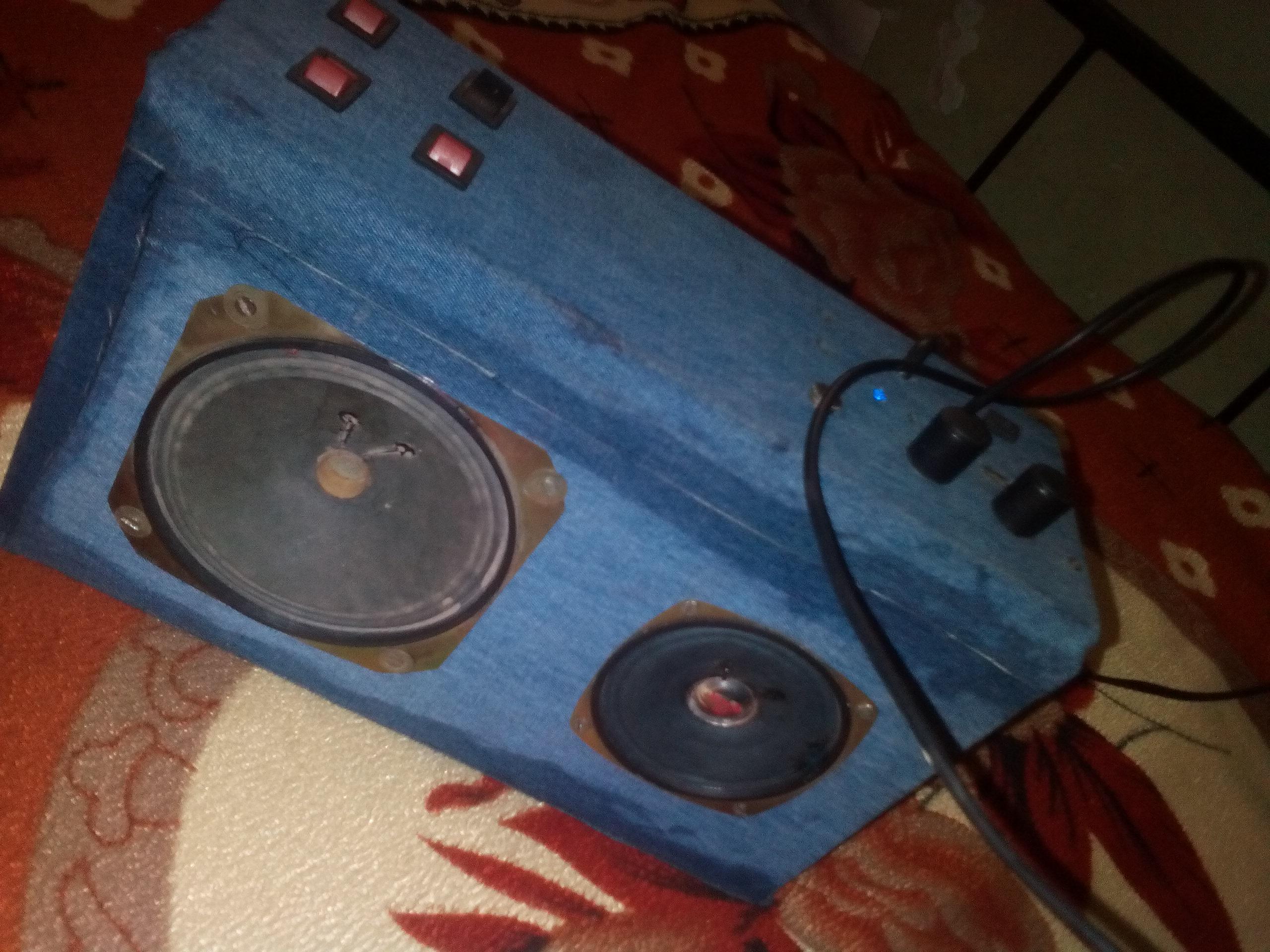 Bluetooth boom box