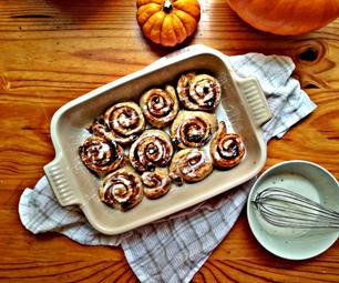 Easy Delicious Over-night Cinnamon Buns