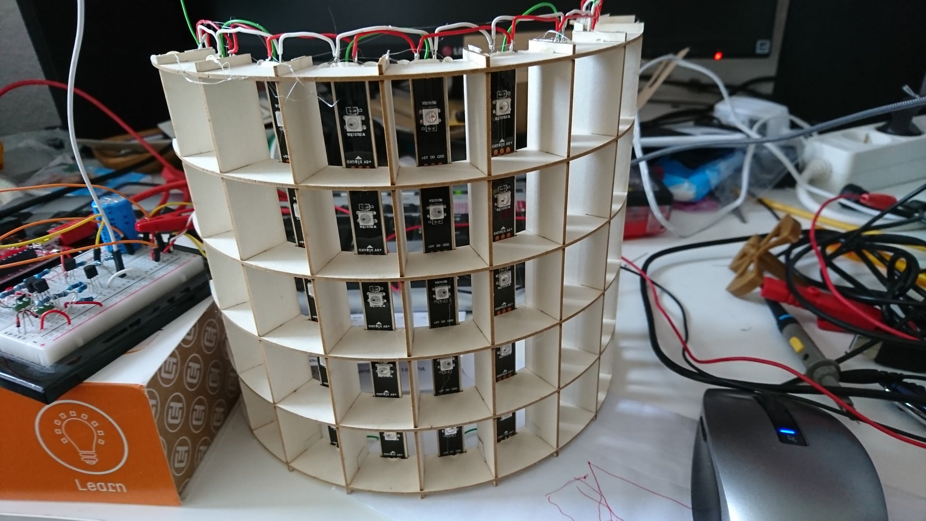 Wiring of LEDs