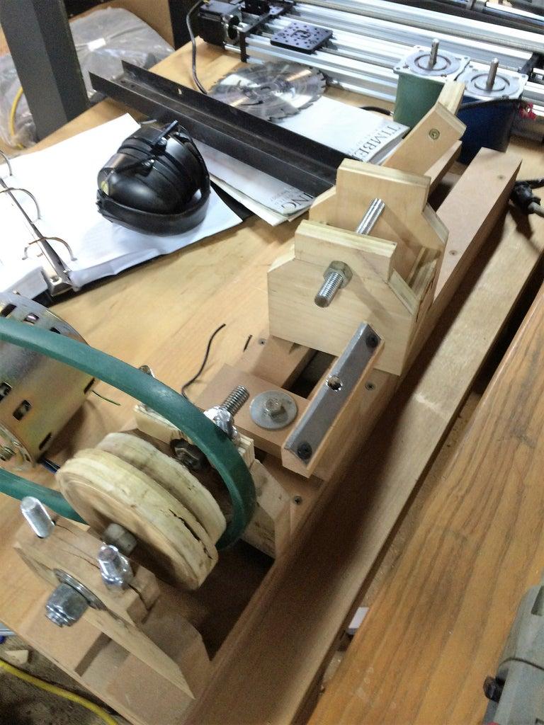 Assembling the Headstock