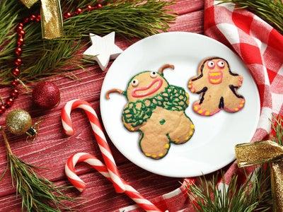 Mammott and Entbrat Sugar Cookies