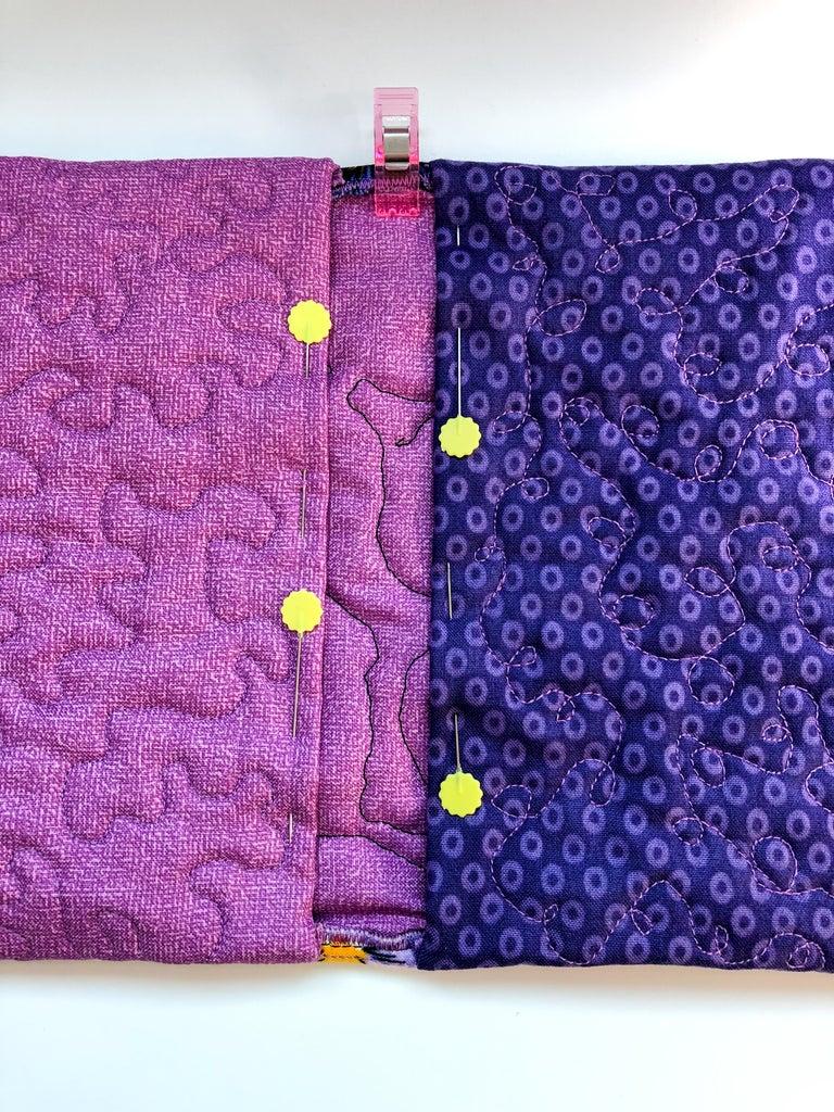 Stitch Down Bottom Edges of Pockets