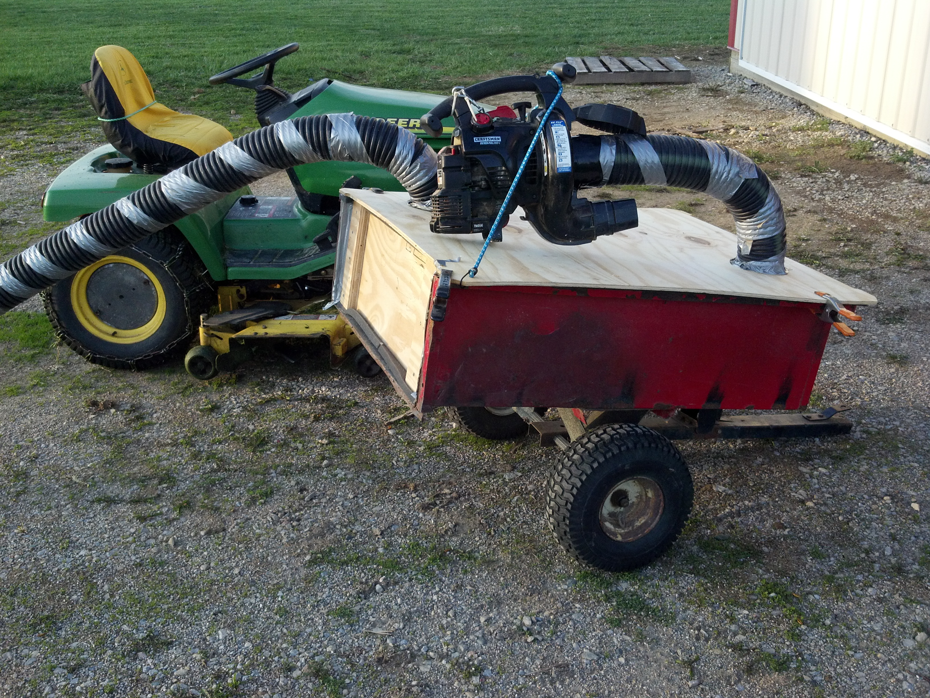 Build a Vacuum Wagon for Spring Cleanup