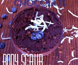 Coconut Chocolate Body Scrub