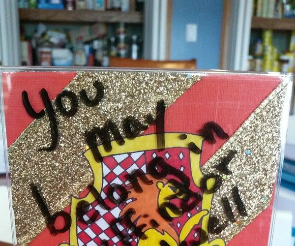Harry Potter Dry Erase Board