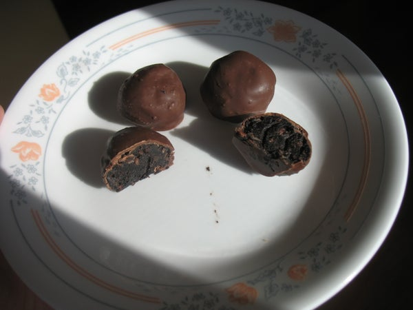 Easy Bacon Chocolate Truffles