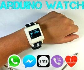 DIY Arduino手表运动2.0