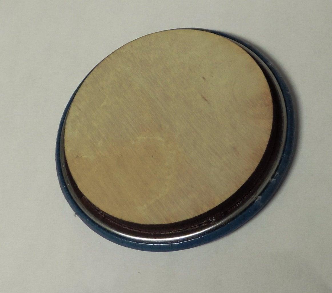 Method       Pic of Pin, Circle, Glued Circle, Finsihed