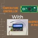 Raspberry Pi Pico Based Temperature Controller