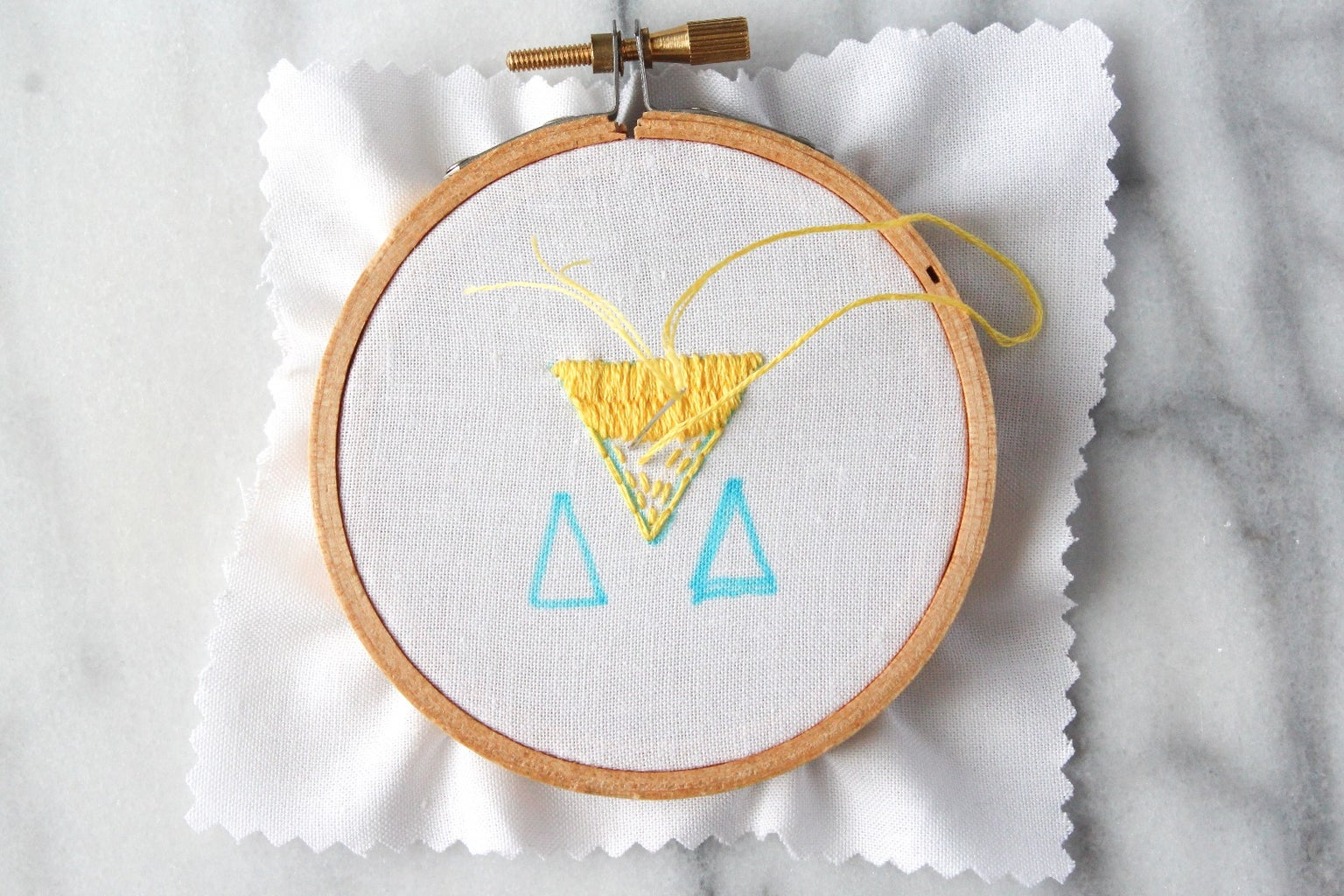 How to Do Straight and Seed Stitches