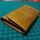 Hand Stitched Leather Key Case
