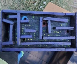 Plywood Marble Maze