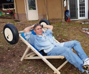 Beach Chair Cart - a Rolling Sling Chair