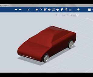 Design a Custom Model Car