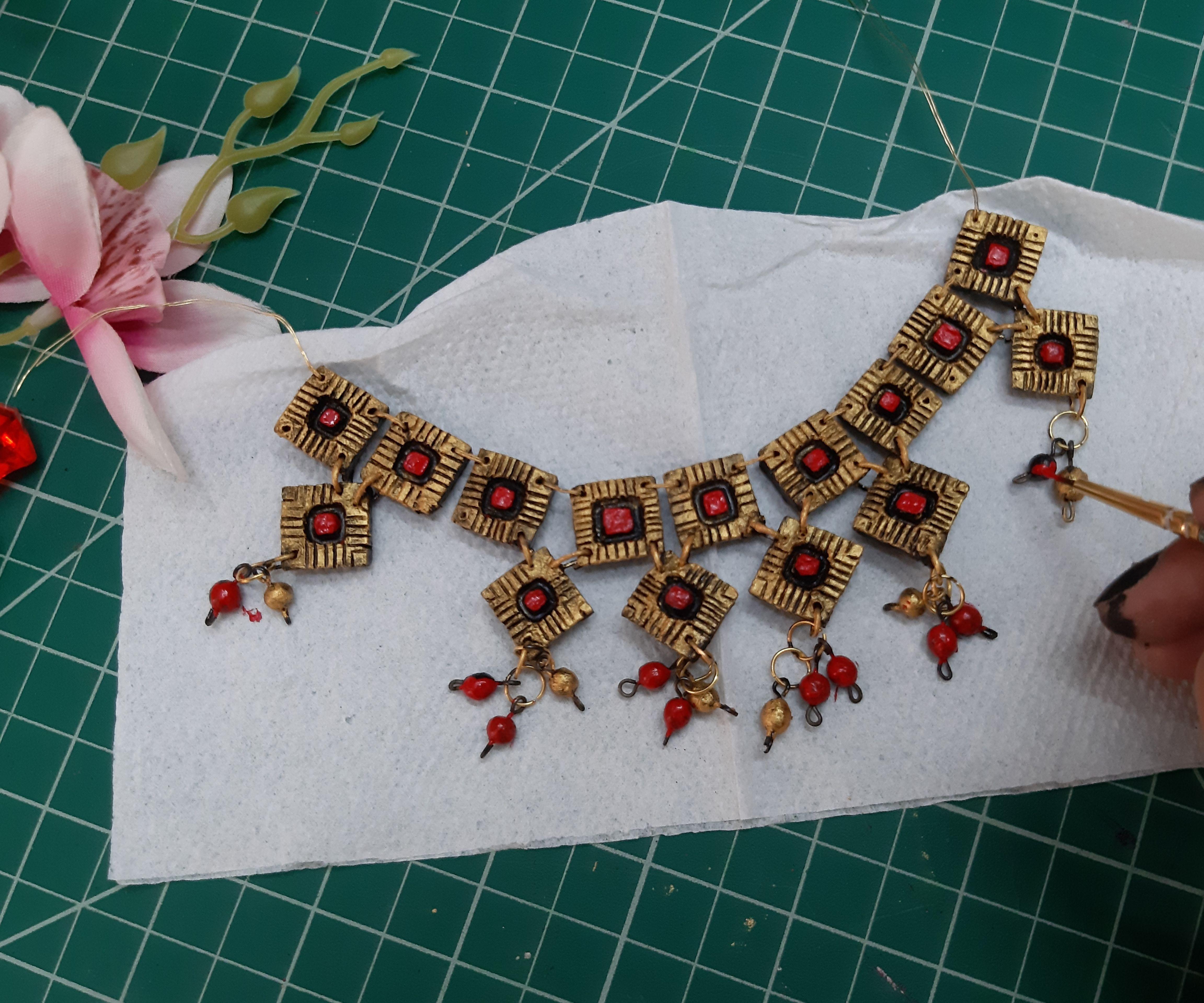 DIY Terracotta Jewelry