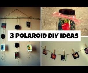 3 Polaroid DIY Ideas