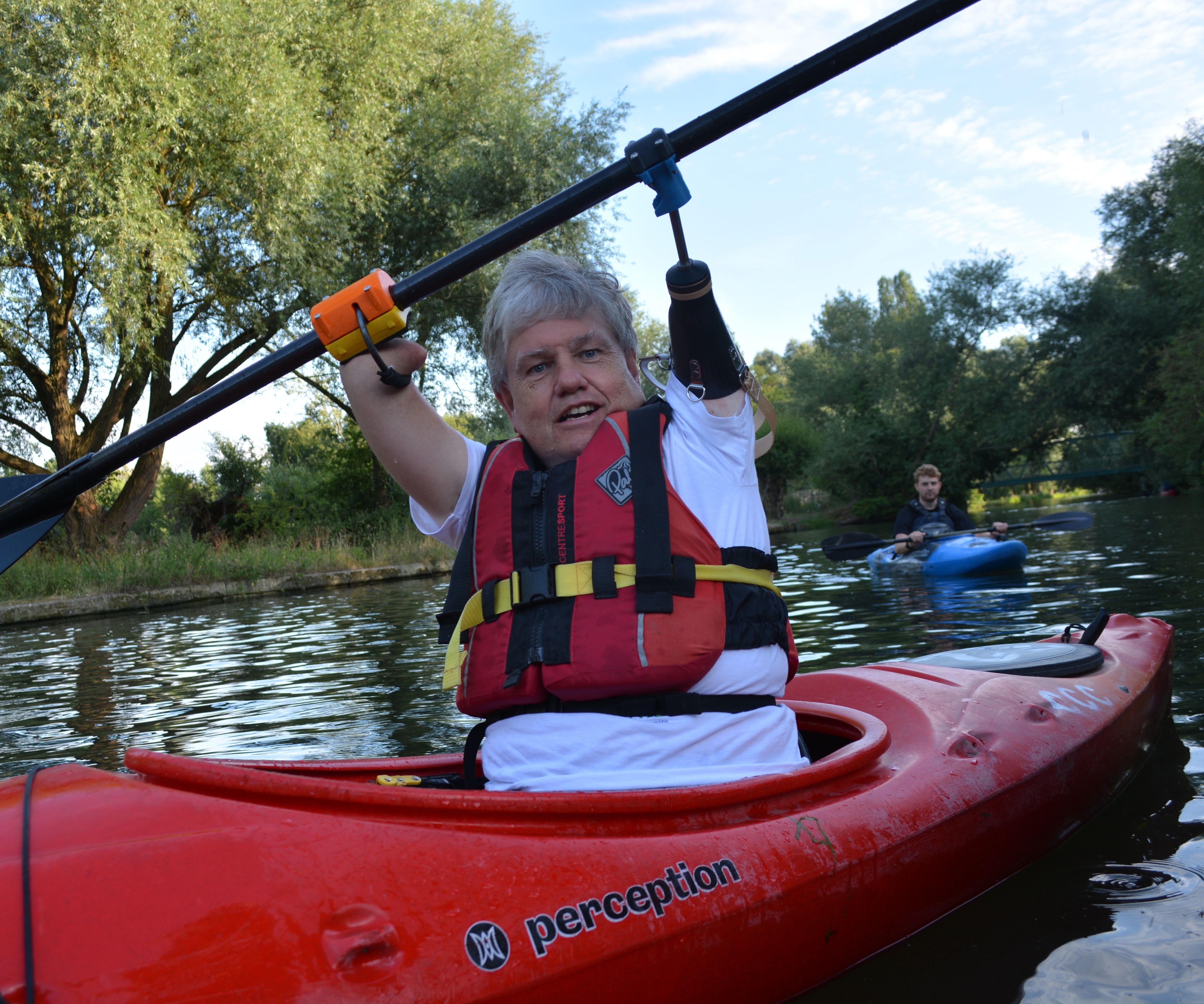 Kayaking Prosthetics